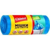 Пакеты для мусора Chisto Крепкие 35 л, 30 шт