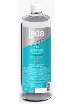 Лак для волос Леда Style Мегасильная фиксация 5, 1 л