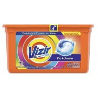 Гелевые капсулы Vizir Color для цветного белья, 39 шт