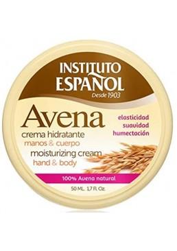 Увлажняющий крем для рук и тела Instituto Espanol Avena Moisturizing Cream Hand And Body, 50 мл