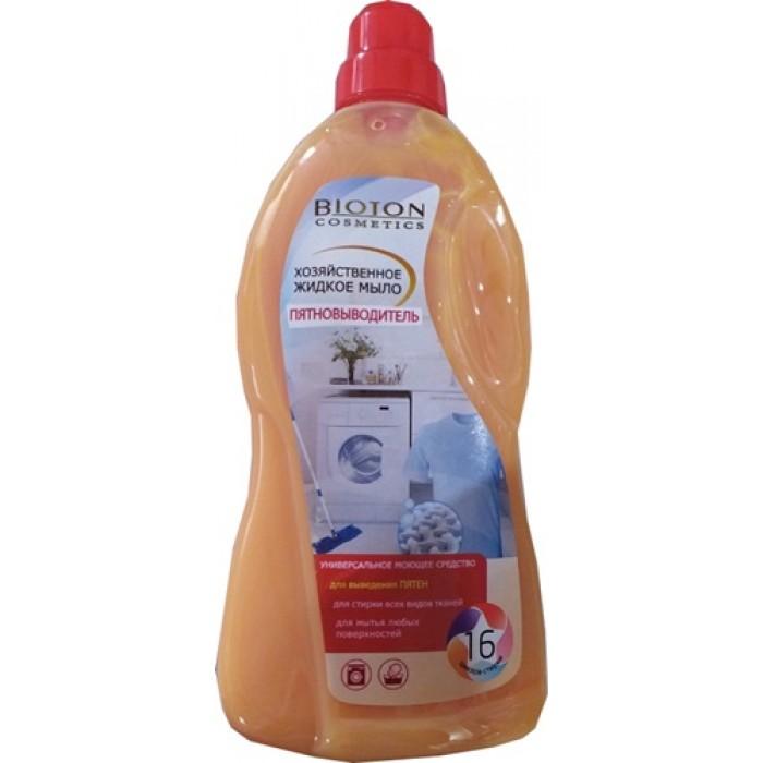 Хозяйственное жидкое мыло Bioton пятновыводитель, 1 л -