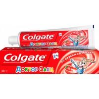 Детская зубная паста Colgate Доктор Заяц со вкусом клубники, 50 мл