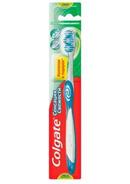Зубная щетка Colgate Сенсация свежести средней жесткости, 1 шт
