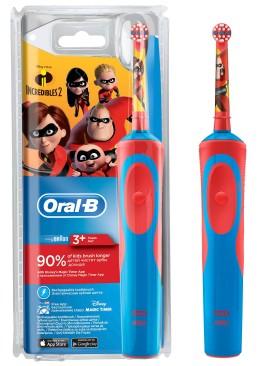 Электрическая зубная щетка ORAL-B BRAUN Stage Power/Incredibles, 1 шт