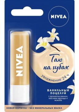 Бальзам для губ Nivea Ванильный десерт Lip Care Pure & Natural Vanilla Buttercream, 4.8 г