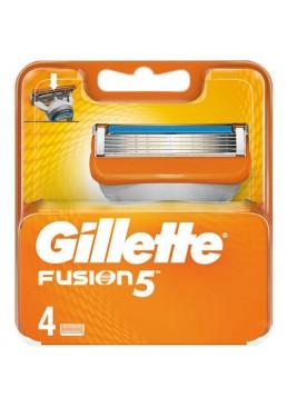Сменные кассеты для бритья Gillette Fusion 5, 4 шт