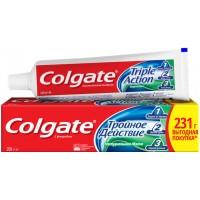 Зубная паста Colgate комплексная Тройное действие Натуральная мята, 150 мл