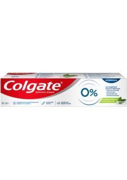 Зубная паста Colgate от кариеса 0% Бодрящая Свежесть, 130 г