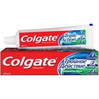 Зубная паста Colgate комплексная Тройное действие Натуральная мята, 100 мл