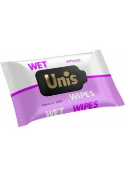 Влажные салфетки Unis для интимной гигиены, 25 шт