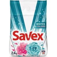 Стиральный порошок Savex Automat Color/Whites, 2.4 кг