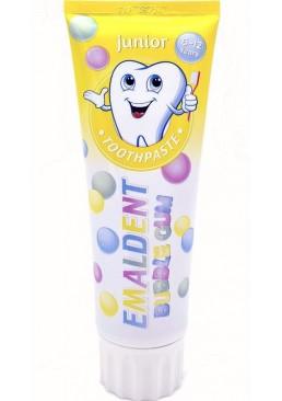 Зубная паста для деток от 6 до 12 лет Emaldent Junior Bubble Gum, 75 мл