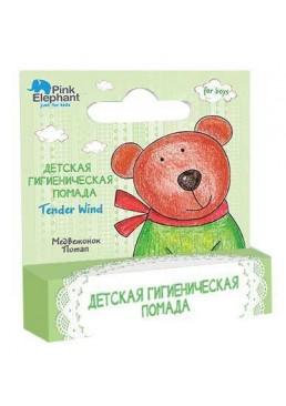 Детская гигиеническая помада Pink Elephant Медвежонок Потап, 3.6 г