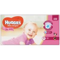 Подгузники Huggies Ultra Comfort 4 для девочек (8-14кг) 50шт