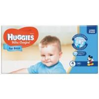 Подгузники Huggies Ultra Comfort 4 для мальчиков  (7-16кг) 50 шт