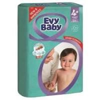 Подгузники детские Evy Baby Maxi Jumbo 4+ (9-20 кг), 54 шт