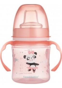 Поильник - непроливайка Canpol babies розовая (с 6 месяцев), 120 мл