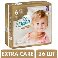 Подгузники Dada Extra Care 6 Extra Large (16+ кг), 26 шт