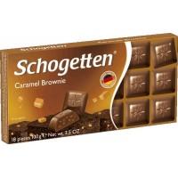Шоколад Schogetten Caramel Brownie Карамель Брауни, 100 г