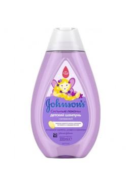 Шампунь для волос Johnson's Baby Сильные локоны детский, 300 мл