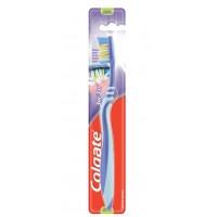 Зубная щетка Colgate ЗигЗаг Плюс средней жесткости, 1 шт