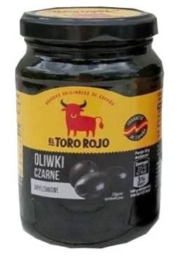 Оливки El Toro Rojo черные без косточки Oliwki Czarne Drylowane, 160 г