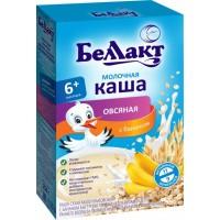 Каша сухая молочная быстрорастворимая Беллакт овсяная с бананом, 200 г
