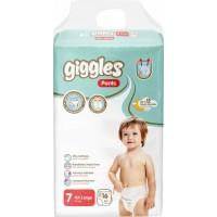 Подгузники-трусики детские Giggles 7 ХXL 17+ кг, 16 шт