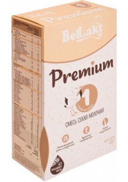 Смесь сухая молочная начальная (стартовая) Беллакт Премиум 1 для детей грудного возраста, 400 г