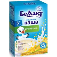 Каша сухая молочная Беллакт кукурузная с 6 месяцев, 200 г