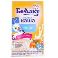 Каша сухая молочная Беллакт тыквенно-рисовая с 6 месяцев, 200 г