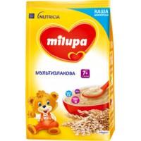 Молочная сухая каша Milupa Мультизлаковая быстрорастворимая от 7 месяцев, 210 г