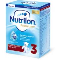 Молочная сухая смесь Nutrilon Premium+ 3 (12 - 18 месяцев), 600 г