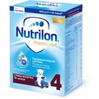 Молочная сухая смесь Nutrilon Premium+ 4  (18+ месяцев), 600 г