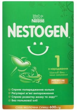 Cухая смесь молочная Nestogen 1 с лактобактериями L. Reuteri для детей с рождения, 600 г