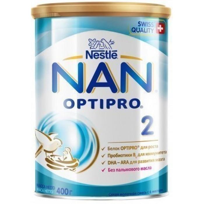 Молочная смесь Nestle NAN 2 c 6 месяцев, 400 г -