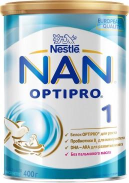 Молочная смесь Nestle NAN 1 с рождения , 400 г