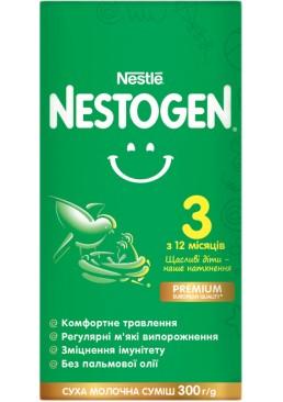Смесь сухая молочная Nestogen 3 с лактобактериями L. Reuteri для детей с 12 месяцев, 300 г