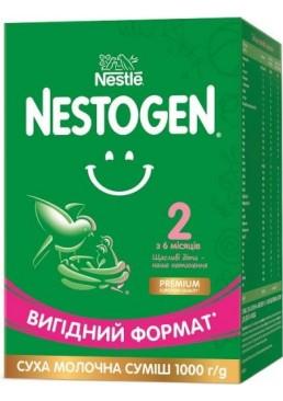 Смесь сухая молочная Nestogen 2 с лактобактериями L. Reuteri для детей с 6 месяцев, 1 кг