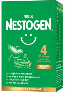 Смесь сухая молочная Nestogen 4 с лактобактериями L. Reuteri для детей с 18 месяцев, 600 г