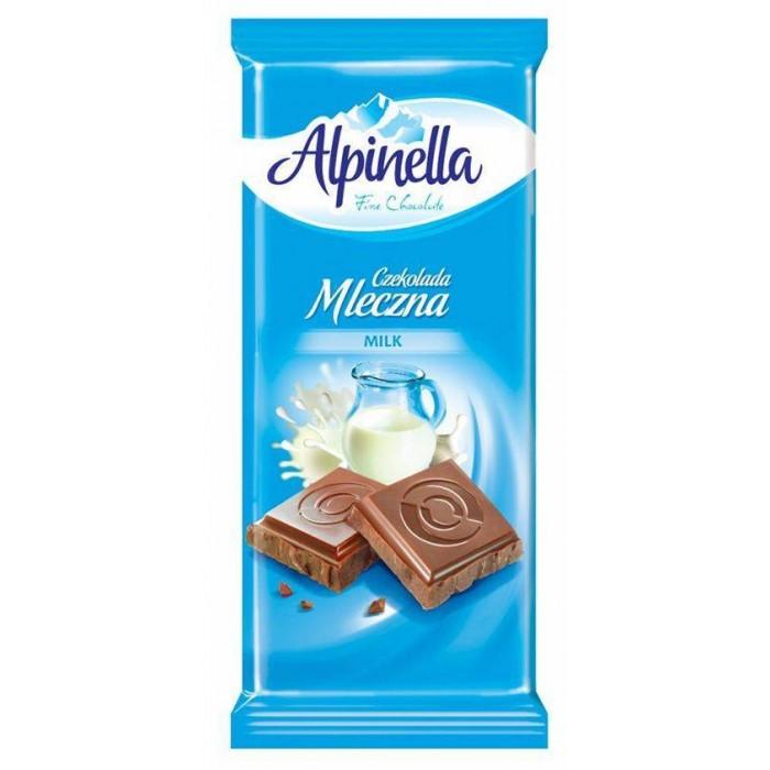 Шоколад Alpinella молочный 90 г -