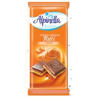 Шоколад Alpinella молочний Тоффи 100г