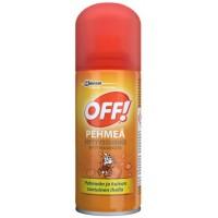 Аэрозоль от комаров Off Smooth & Dry с эффектом сухого аэрозоля, 100 мл