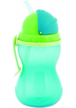 Бутылочка - поилка Canpol со складной трубочкой (с 12 месяцев), 370 мл