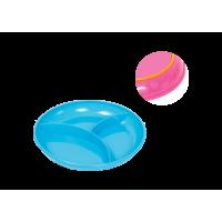 Тарелка секционная Курносики для кормления с прорезиненным дном, 1 шт