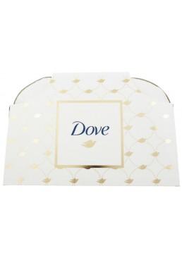 Подарочный набор Dove От всего сердца (шампунь, бальзам, антиперспирант, крем-мыло, косметичка)