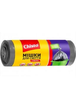 Пакеты для мусора Chisto 120 л, 10 шт