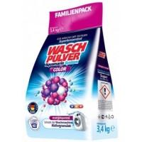 Порошок для стирки WaschPulver Color для цветного белья, 3.4 кг (40 стирок)